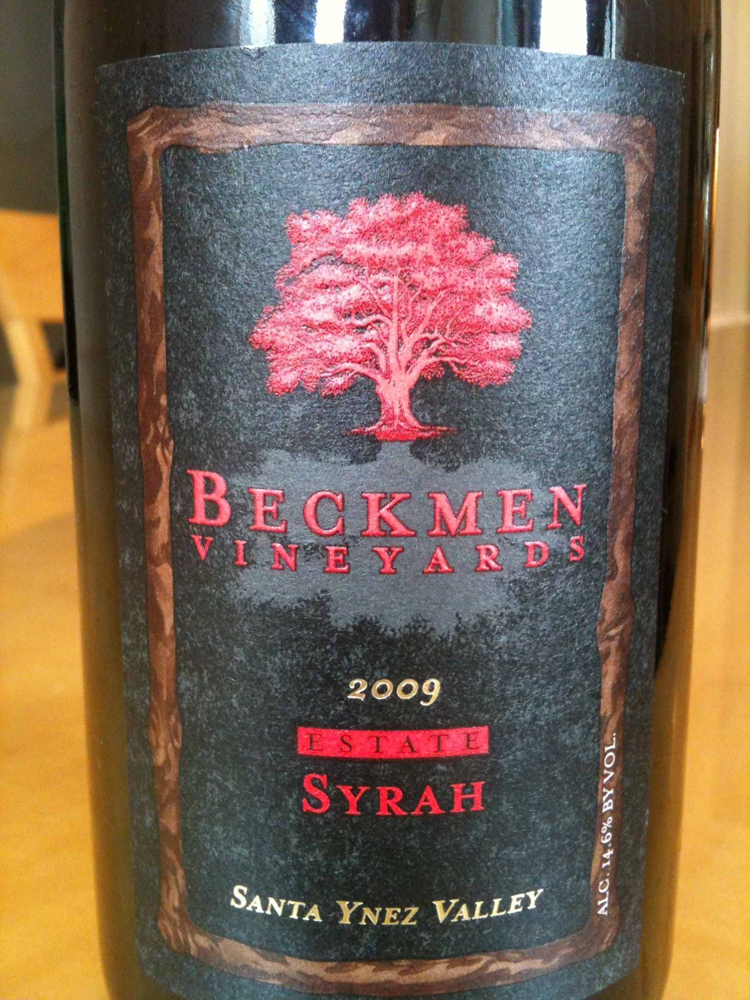 Beckmen Vineyards 2009 Estate Syrah Santa Ynez Valley - Wine Review