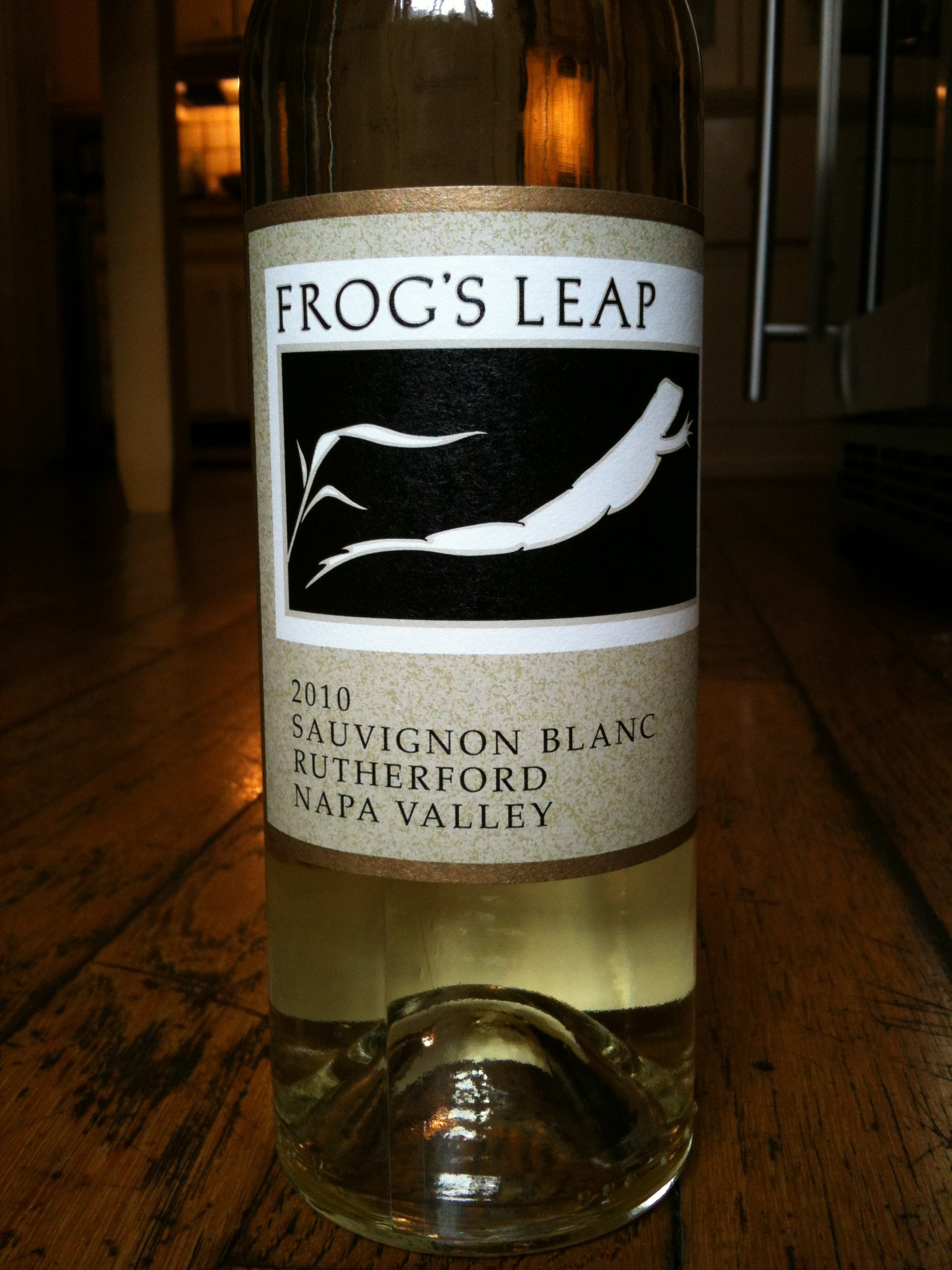 Frog's Leap 2010 Sauvignon Blanc Rutherford Napa Valley - Wine Review
