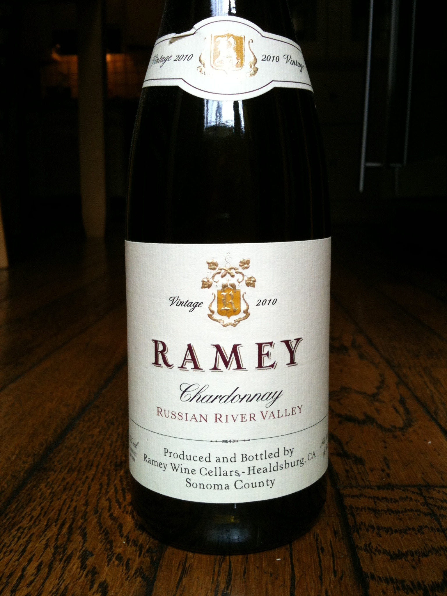 Ramey Chardonnay Russian River Valley 2010 - Wine Review