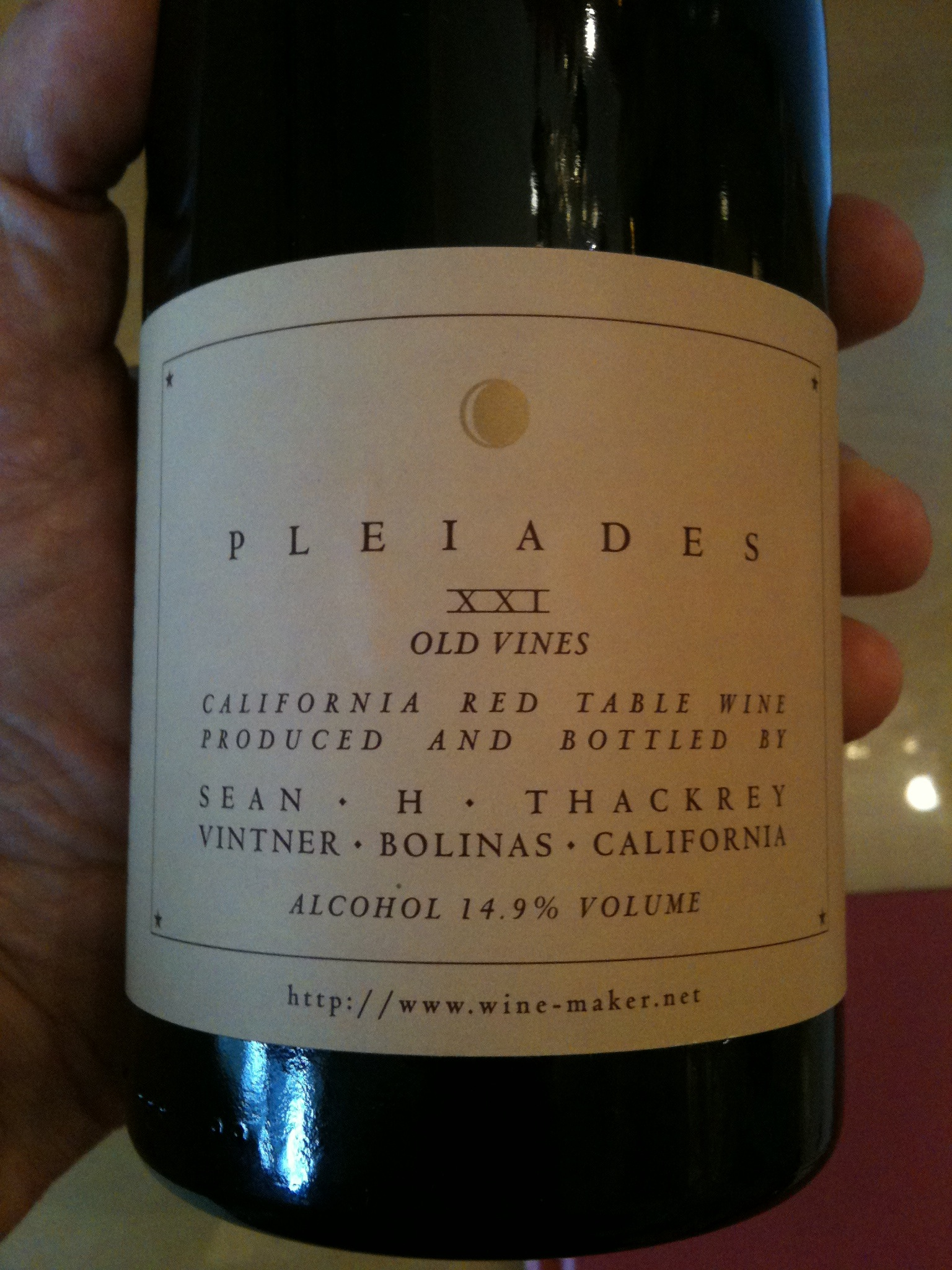 Sean Thackrey Pleiades XXI Old Vines - Wine Review