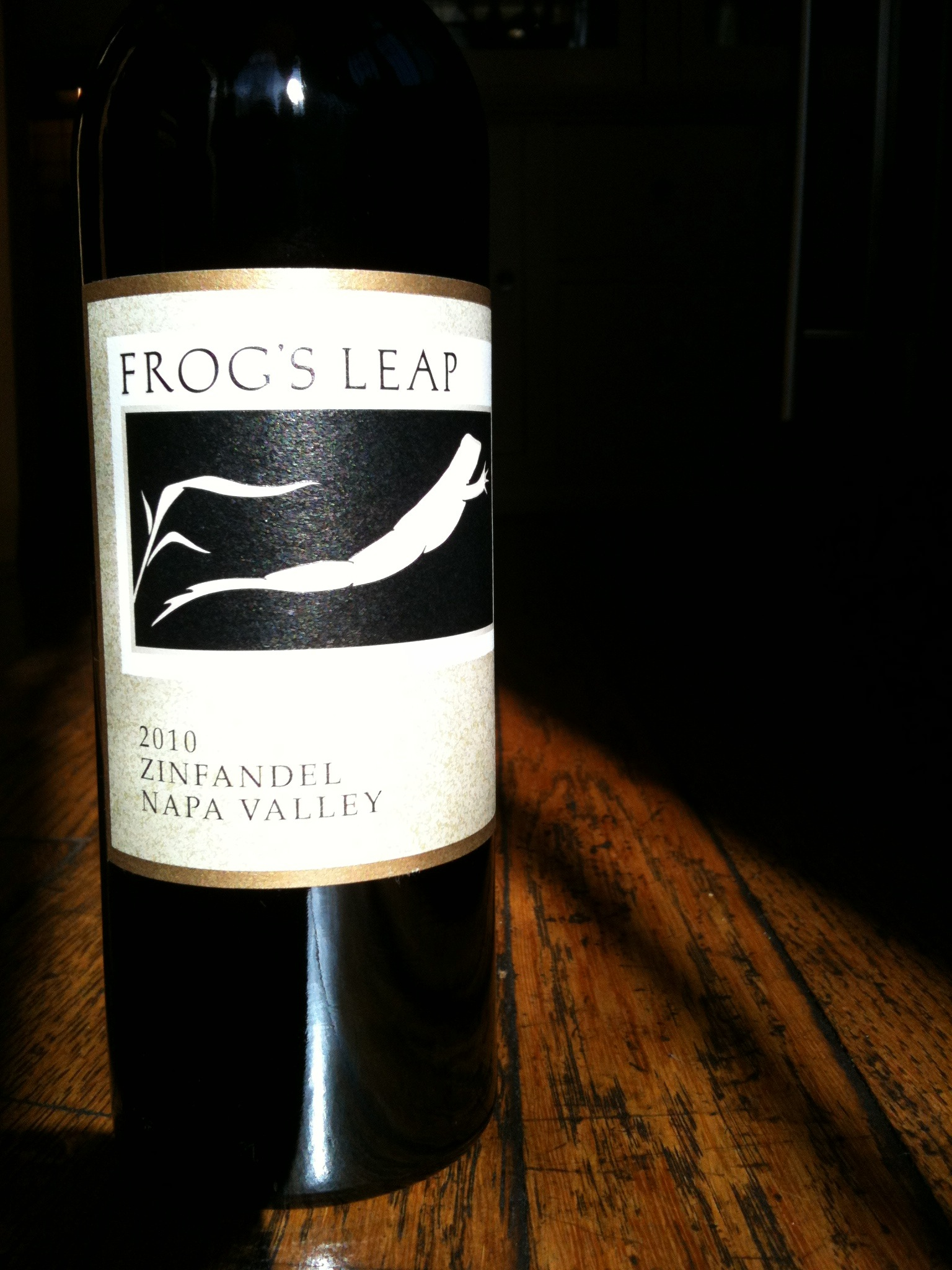 Frogs Leap 2010 Zinfandel Napa Valley - Wine Review