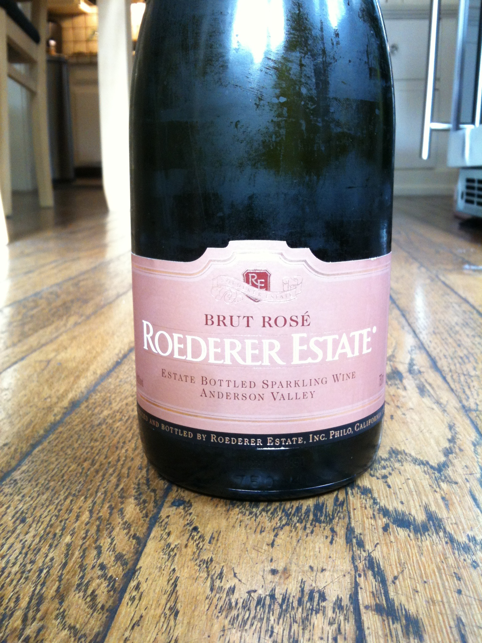 Roederer Estate Brut Rose NV Anderson Valley - Wine Review