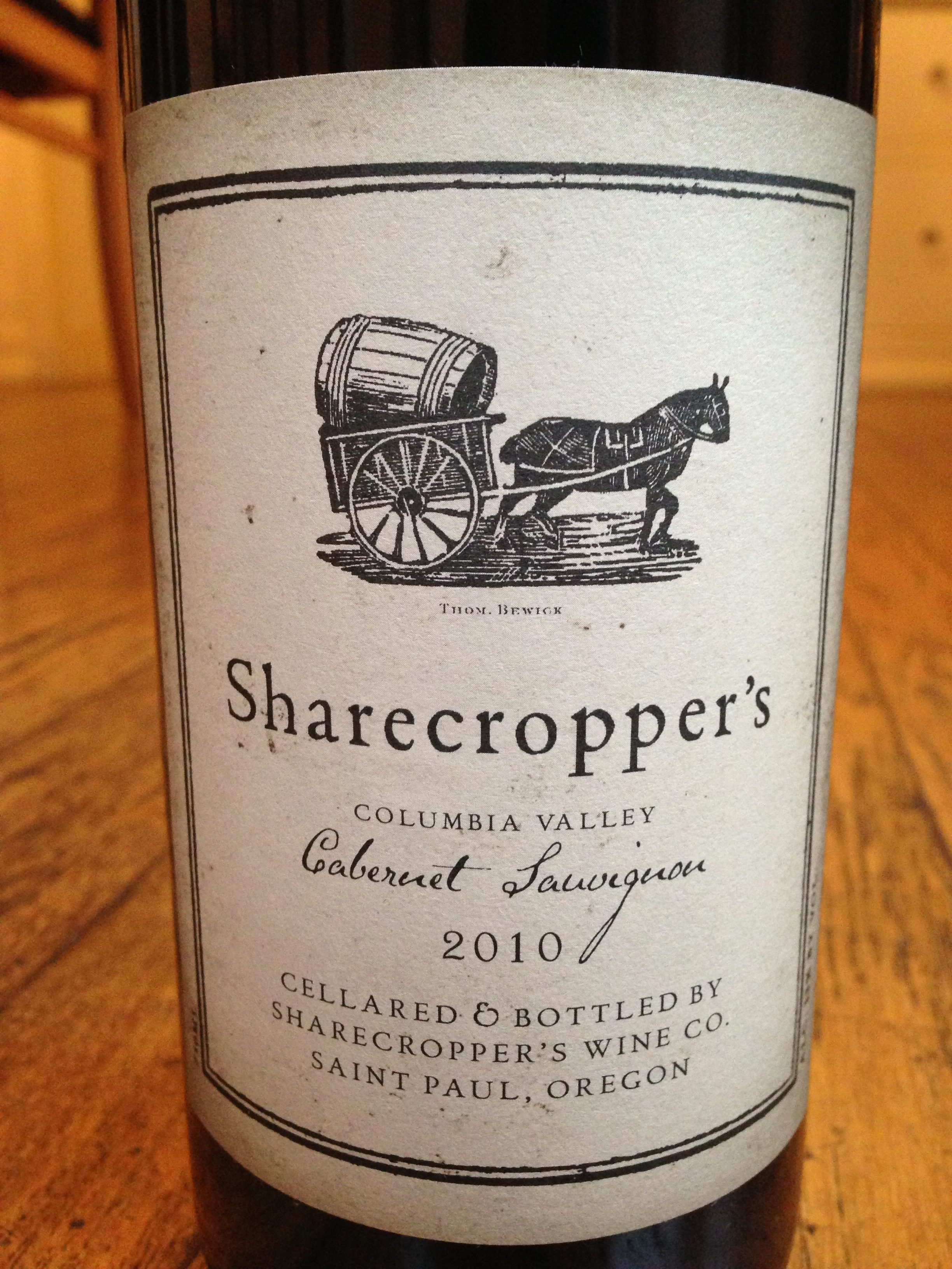 Owen Roe 2010 Sharecropper's Cabernet Sauvignon - Wine Review